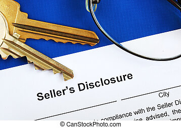Sign the seller disclosure