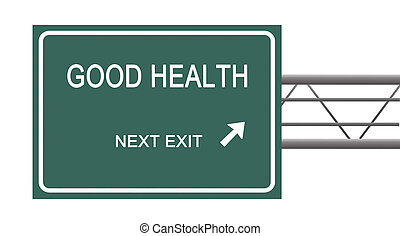 Sign to good health