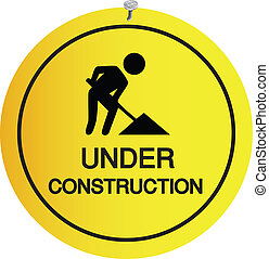 sign under construction