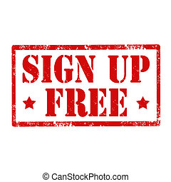 Sign Up Free-stamp