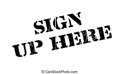 sign up here illustrations and stock art 1 095 sign up here rh canstockphoto com volunteer sign up clipart sign up today clipart