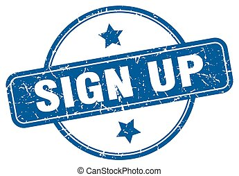 sign up
