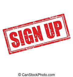Sign Up-stamp