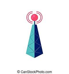 signaal, de toren van de repeater, antenne