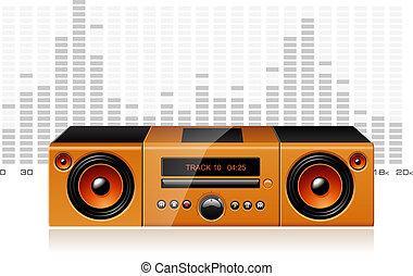 signal, boombox, dj, spectre