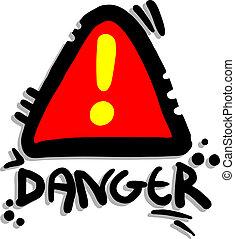 Signal danger - Creative design of signal danger