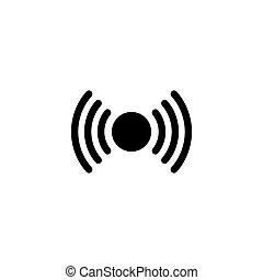 Signal Flat Vector Icon