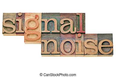 signal, geräusch