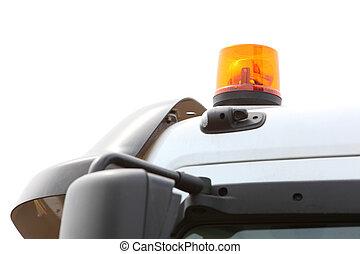 signal lamp for warning flashing light on vehicle - Orange...