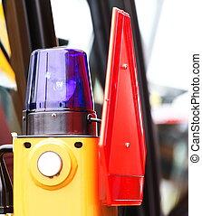 signal lamp for warning flashing light on vehicle - signal...