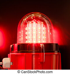 signal, leuchtdiode, lampe