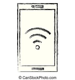 signal, smartphone, wifi