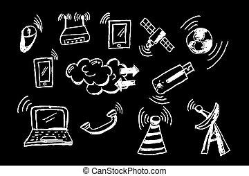 signal, telekommunikation