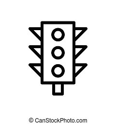 signal thin line icon