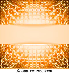 signalljus, eps, burst., apelsin, 8, fyrkanteer, teknologi