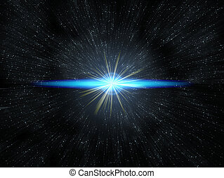 signalljus, stjärna
