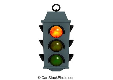 Signals of a traffic light