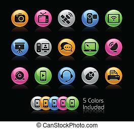 signaltjänst, -, gelcolor, serie