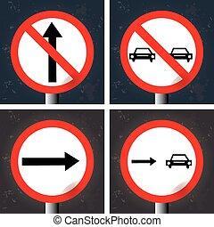 signaux, trafic