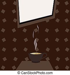 signboard for cafe