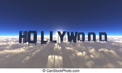 signboard of Hollywood