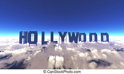 Hollywood - signboard of Hollywood