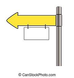 signboard vector illustration