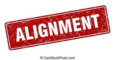 signe, alignement, label., vendange, rouges, stamp.
