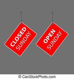 """signe, arrière-plan., étiquette, blanc, """"today, sale"""", rouges"""