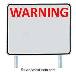 signe, avertissement