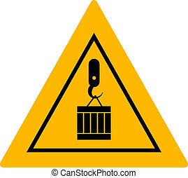 signe, charge, suspendu