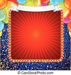 signe, conception, fête, célébration