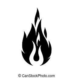 signe feu