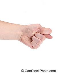 signe., figue, main