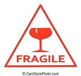 signe, fragile