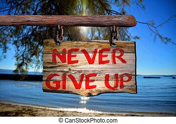 signe, haut, motivation, locution, jamais, donner