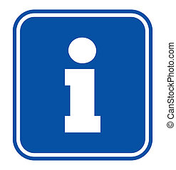 signe, information, touriste
