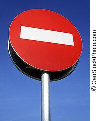 signe, interdit