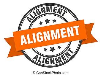 signe., label., timbre, alignement, alignmentround, bande