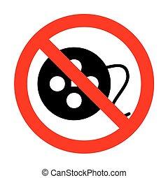 signe., non, pellicule, circulaire