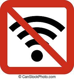 signe, non, wi-fi