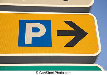 signe parking