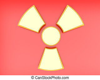 signe, radioactif