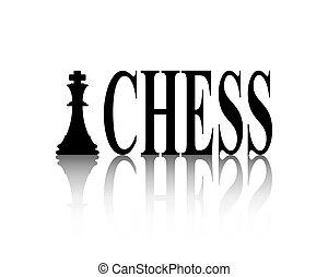 signe, reflet, échecs