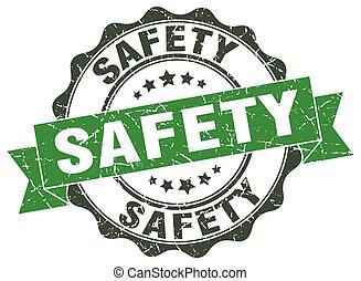 signe., stamp., label sécurité