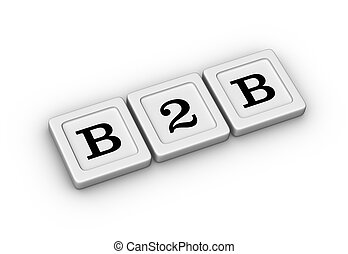 signe., symbole., business, b2b