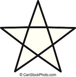 signe., symbole., choix, app, contour, ui., site, style., icône, étoile, arrière-plan., toile, ligne, ton, conception, mieux, logo, blanc, classement, plat
