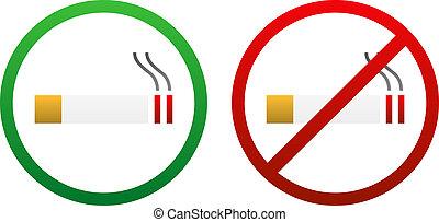 signe tabagisme