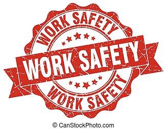 signe., travail, sécurité, stamp., cachet