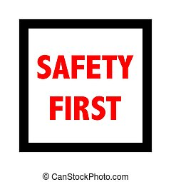 signe., vecteur, sûreté abord